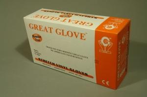Guante de Vinyl PF GG Stretch, ESC-GVPFS