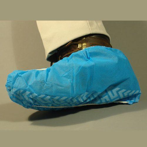 Cubrezapatos de Tela no Tejida con Antiderrapante, azul, XL, c/50 pares