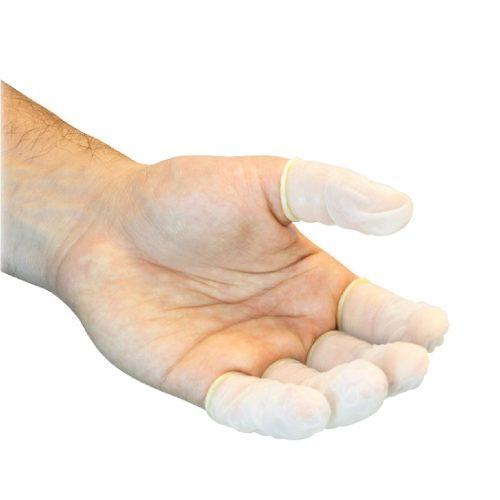 Dedal de latex sin polvo, c/1,440 pzs