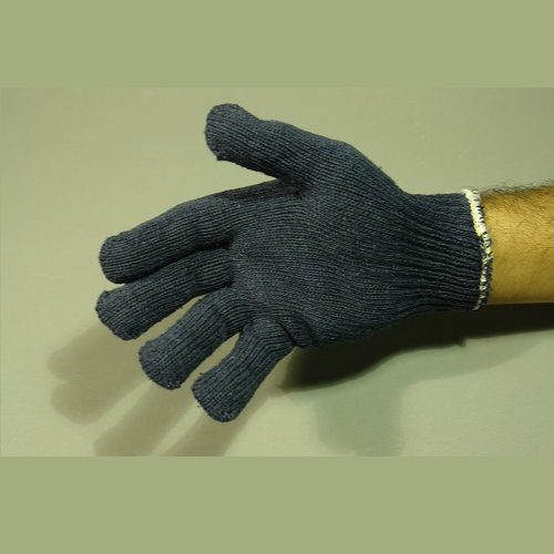 Guante de Algodón tipo Japones para caballero, Azul, Par