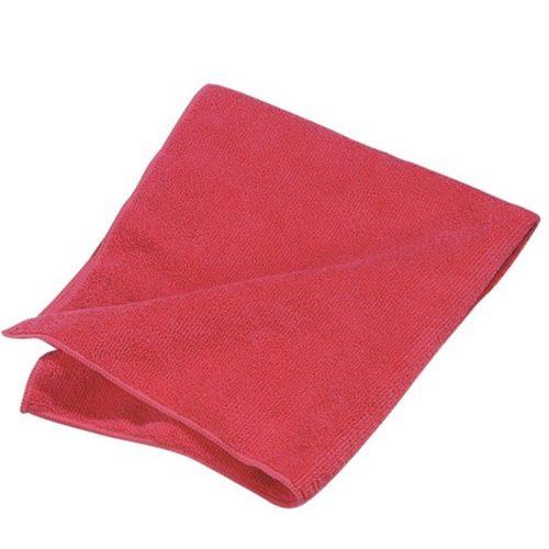 Microfiber Tipo Toalla, 16″X16″, Roja, pieza