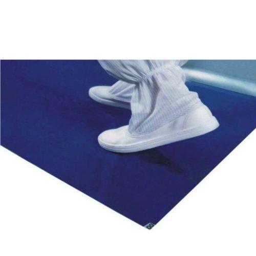 Tapete Adhesivo, 25″X45″, Azul, con 4 pzs de 60 hojas c/u