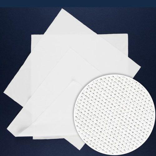 """Wipe Microfibra blanca, MicroPolx 1100, 9""""X9"""", caja con 14 paquetes de 150 piezas c/u"""