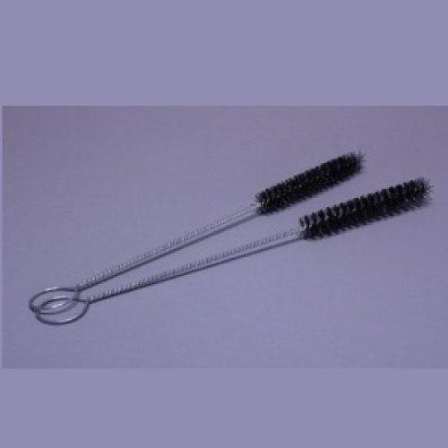 """Cepillo de Nylon en espiral de 1/2″"""", mango Metalico de 8-1/2″"""" con ojillo"""