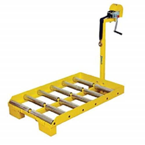 Cargador para transferencia de baterias, capacidad de 4,000 lbs, Wesco 274260, pieza