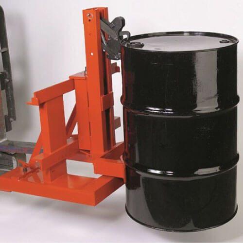 Adaptador para levantar tambos con montacargas, Gator Grip, capac. 1,600 lbs, pieza