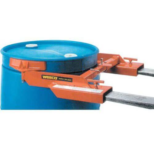 Adaptador para levantar tambos con montacargas, Poly Jaws, capac. 1,000 lbs, pieza